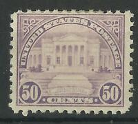 UNITED STATES 1922 ARLINGTON 50c MINT (B)