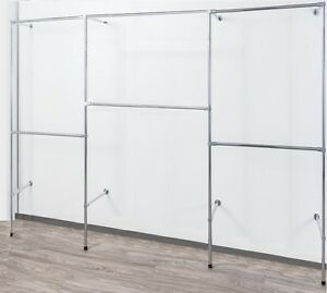 begehbarer Kleiderschrank  Wandregal  Kleiderkammer  Kleiderstange Garderobe W14