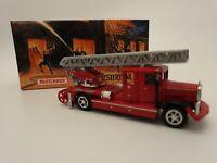 Matchbox YFE05 Fire Engine Series - 1932 Mercedes-Benz Ladder Truck - Boxed