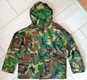 U.S. ARMY Parka, cold weather, woodland camouflage, Größe large regular