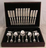 DUBARRY By JOHN MASON Arthur Price Silver Service 44 Piece Canteen of Cutlery