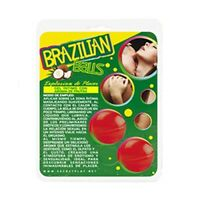 SECRET PLAY BRAZILIAN BALLS AROMA FRUTAS DEL BOSQUE HIGH QUALITY SEXUAL LUBRICAN