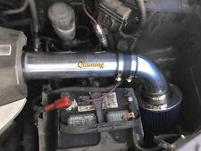 Black Blue Air Intake System Kit + Filter 2PC For 2009-2013 Honda Pilot 3.5L V6