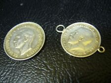 Lot of Silver Coin & Jewelry Charm Coin - Unknown Silver Content