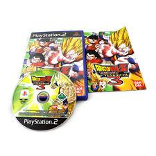PS2 PS3 DBZ DRAGON BALL Z BUDOKAI TENKAICHI 3 PLAYSTATION 2 PS2