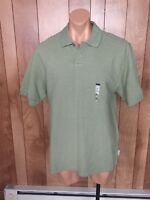 MEN'S GEOFFREY BEENE SHORT SLEEVE POLO SHIRT-SIZE: LARGE