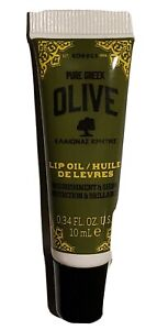 Korres Pure Greek Olive Oil Nourishing & Anti-Aging Lip Oil .34 oz New