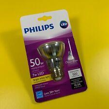 NEW! Philips PAR20 LED Light Bulb 7-watt (50-watt equiv.), White 3000K, Glass