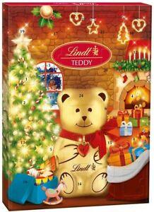 Lindt Teddy Bear Chocolate Advent Calendar Countdown to Christmas 172g