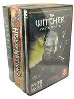 PC Games Lot The Witcher 2 & Bonus DVD Soundtrack - Quake 4 & Rise of Nations