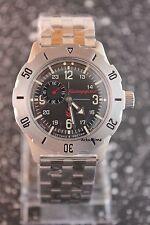 100 m (10 ATM) Sportliche Mechanisch-(Automatisch) Armbanduhren mit 12-Stunden-Zifferblatt