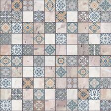 Bodenfliese Terrazzo Blau 30x30cm orientalisch Mosaik-Optik # 15,00 €/m²