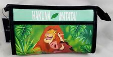 New Disney The Lion King Hakuna Matata Cosmetic Make-Up Tote Bag Makeup Purse
