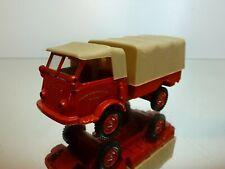 VEREM 6030 RENAULT 4x4 TRUCK - CENTRE d'INTERVENTION - RED L9.5cm - VERY GOOD