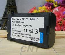 Battery for Panasonic CGR-D08R NV-DS29B DV Camcorder CGR-D08R CGR-D08