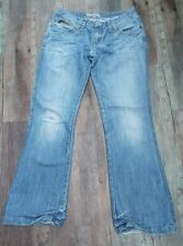 BENCH Naturally Distressed Jeans ~~ One of a Kind ~~ Loose Fit ~~ Size 32R