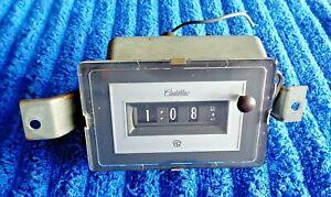TESTED & WORKING Original OEM GM Delco 74-78 Cadillac Models Dash Clock 1611457