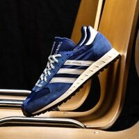 Adidas TRX Vintage Mens White Grey Gold Blue Shoe Trainer Sneaker All Sizes