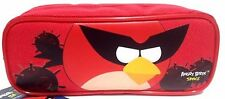 Rovio Angry Birds Pencil Pouch /Pencil Case (Red) by Rovio High-Brand New!