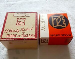 """Vintage Hardy LRH Lightweight Reel with Extra New Spool Made in England  3"""""""