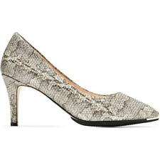 Cole Haan Womens Grand Ambition Leather Snake Print Casual Pumps Shoes BHFO 3682