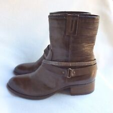 d75dba9b057d MJUS SZ 10 41 BROWN LEATHER ANKLE MID SHAFT 1.5