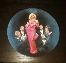 Diamonds Are A Girl's Best Friend Marilyn Monroe Collectible Plate 1990