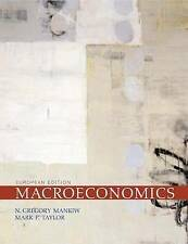 Good, Macroeconomics European Edition, Taylor, Mark P., Mankiw, N. Gregory, Book