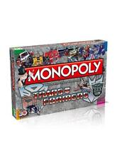 TRANSFORMERS MONOPOLY EDITION BRAND NEW 6 X COLLECTIBLE METAL TOKENS