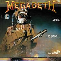 MEGADETH So Far So Good So What BANNER HUGE 4X4 Ft Fabric Poster Flag album art