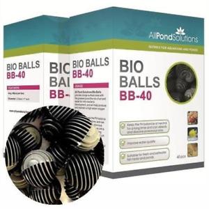 Bio Balls - Aquarium Fish Tank & Pond Filter Media 400 - 10 Boxes of 40