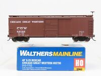 HO Scale Walthers Mainline 910-1702 CGW Chicago Great Western 40' Boxcar #85780