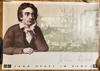 John KEATS In Rome Poster By Shelly Memorial House 19 X 26