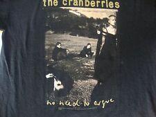Vintage 1995 THE CRANBERRIES No Need To Argue CONCERT TOUR 90s grunge T Shirt XL