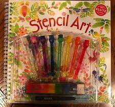 Klutz Stencil Art Book Kit New