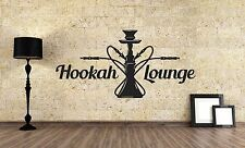Wall Vinyl Sticker Decal Focus Room Decor Interior Hookah Bar Bong Kalian VY473