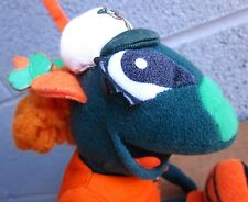 GREENSBORO GRASSHOPPERS female mascot plush doll circa 2005 baseball toy