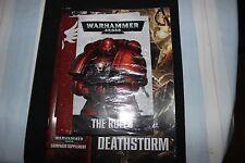 Games Workshop Warhammer 40K 7th Edition Rulebook + Deathstorm Supplement Rules