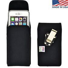 Turtleback iPhone 6 PLUS Nylon Pouch Holster Metal Clip fits Lifeproof Case