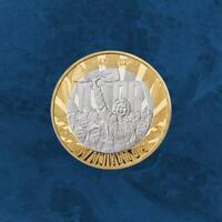Großbritannien - 75 Jahre Ende 2. Weltkrieg - £2 Pound 2020 Silber PP