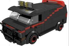 Lego Moc Instruction A-Team Van (Agence Tous Risque)