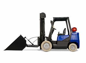 Staplerschaufel hydraulisch 140cm Kat 123 Kippschaufel Gabel-Stapler Kippmulde