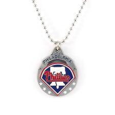 PHILADELPHIA PHILLIES LARGE PENDANT NECKLACE 21220 baseball sports jewelry
