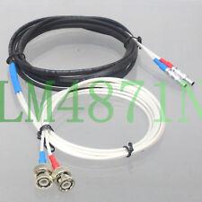Dual BNC LEMO-00 RG316-W 3M Ultrasonic Equipment GE NDT Panametrics Krautkramer