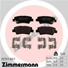 1x Bremsbelagsatz  Scheibenbremse ZIMMERMANN 25337.160.1