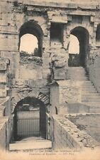 NÎMES - arenas, view internal, detail - Vomitories and Stairs