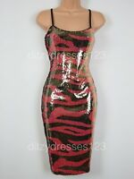 BNWT V by Very Embellished Sequin Cami Bodycon Dress Size 10 RRP £49