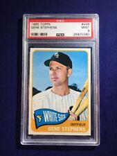 1965 Topps Gene Stephens #498 PSA 9 Chicago White Sox