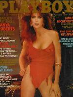Playboy October 1982 | Tanya Roberts Marianne Gravatte Mayako Murata      #1655+