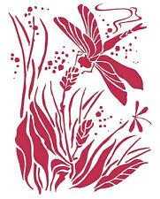 Stamperia Stencil Dragonfly  NEW   20 x 15 cm